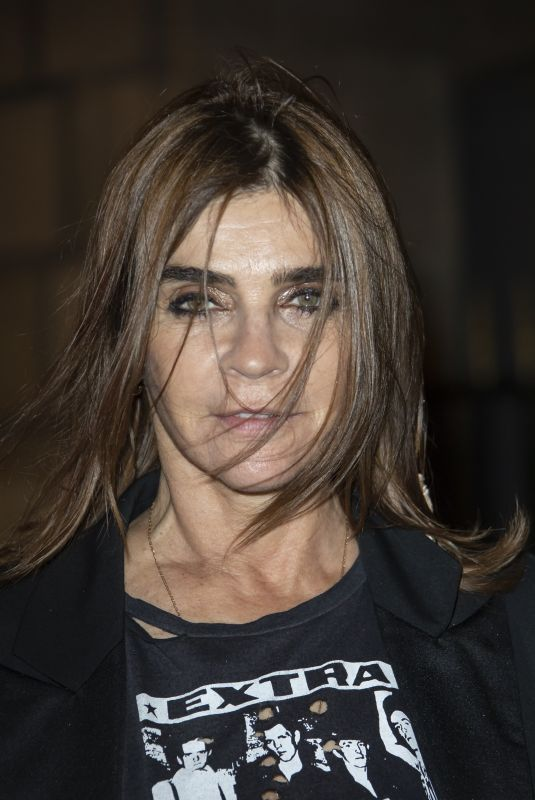 CARINE ROITFELD Arrives at CR Fashion Book x Redemption Party in Paris 02/28/2020