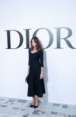 CARLA BRUNI at Christian Dior Show at Paris Fashion Week 02/25/2020
