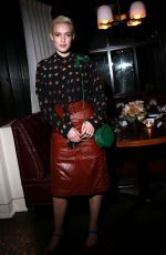 CARLOTTA KOHL at Coach Show Afterparty at New York Fashion Week 02/11/2020