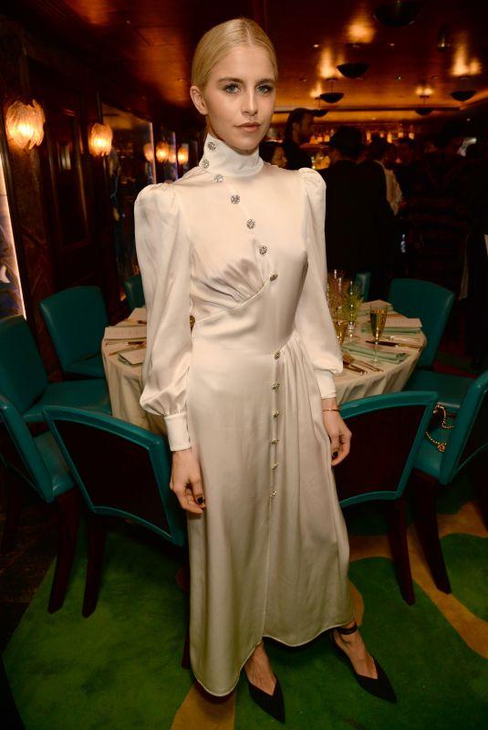 CAROLINE DAUR at Natalia Vodianova x Maxx Resorts Party in London 02/17/2020