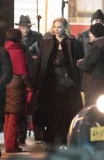 CATE BLANCHETT and ROONEY MARA on the Set of Nightmare Alley in Toronto 01/30/2020