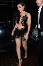 CHARLI XCX Arrives at Brit Awards After-party in London 02/18/2020