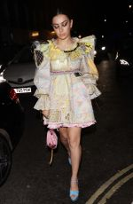 CHARLI XCX Arrives at Love Magazine Party in London 02/17/2020