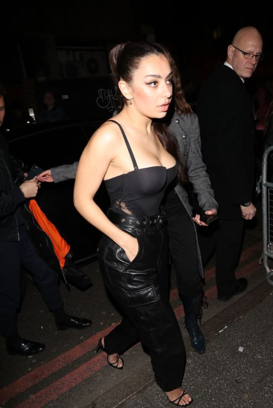 CHARLI XCX Arrives at NME Awards 2020 in London 02/12/2020