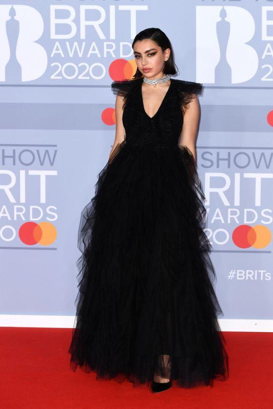 CHARLI XCX at Brit Awards 2020 in London 02/18/2020