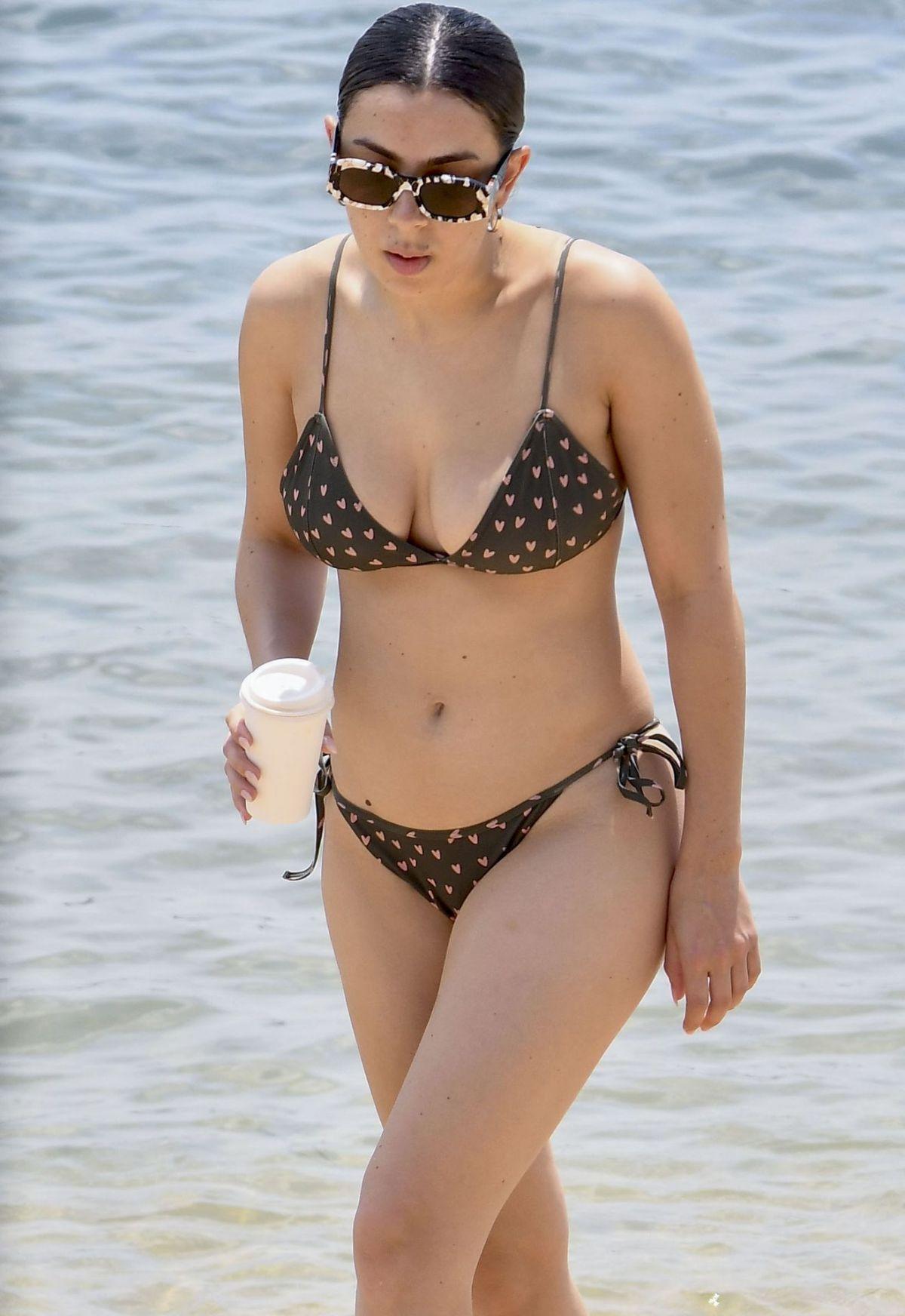 CHARLI XCX in Bikiniat at a Beach in Sydney 02/05/2020 - HawtCelebs