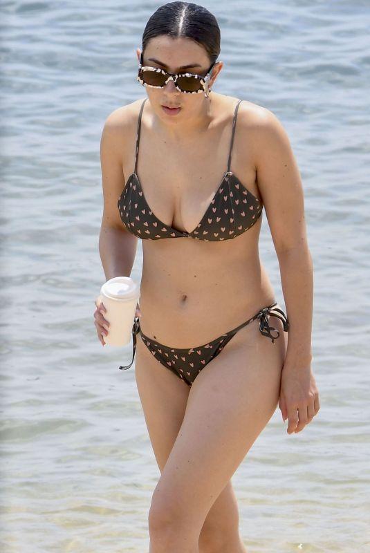 CHARLI XCX in Bikiniat at a Beach in Sydney 02/05/2020