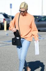 CHARLIZE THERON in Denim Out and About in Los Angeles 02/25/2020