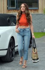 CHARLOTTE CROSBY Out in Newcastle 02/05/2020