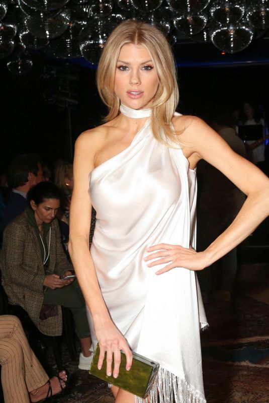 CHARLOTTE MCKINNEY at Baja East Fashion Show in Los Angeles 02/07/2020