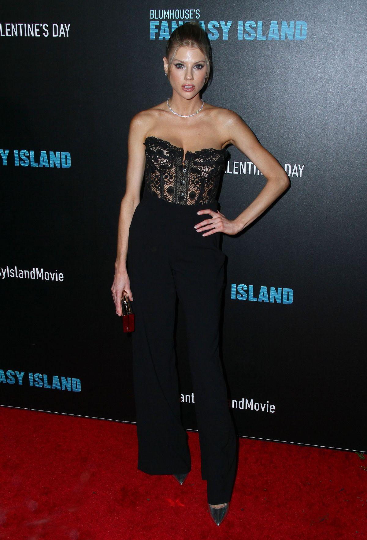CHARLOTTE MCKINNEY at Fantasy Island Premiere in Los
