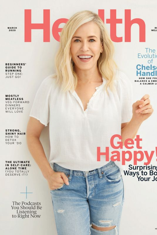 CHELSEA HANDLER in Health Magazine, March 2020
