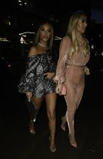 CHELSEE HEALEY Arrives at San Carlo Fumo Restaurant in Manchester 02/16/2020