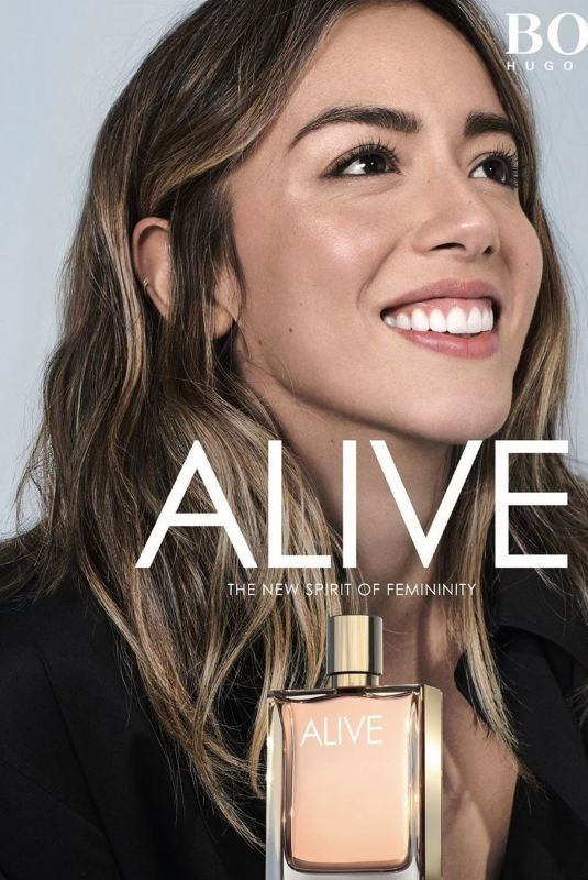 CHLOE BENNET for Hugo Boss Alive, 2020