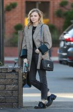 CHOE MORETZ Leaves XIV Karats in Beverly Hills 02/12/2020