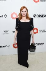 CHRISTINA HENDRICKS at Elton John Aids Foundation Oscar Viewing Party in West Hollywood 02/09/2020