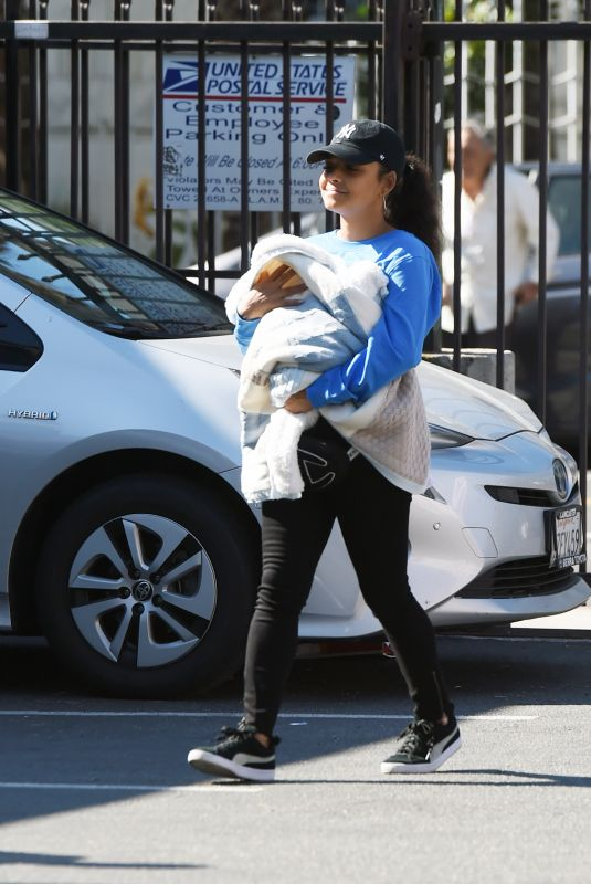 CHRISTINA MILIAN Out in Hollywood 02/14/2020