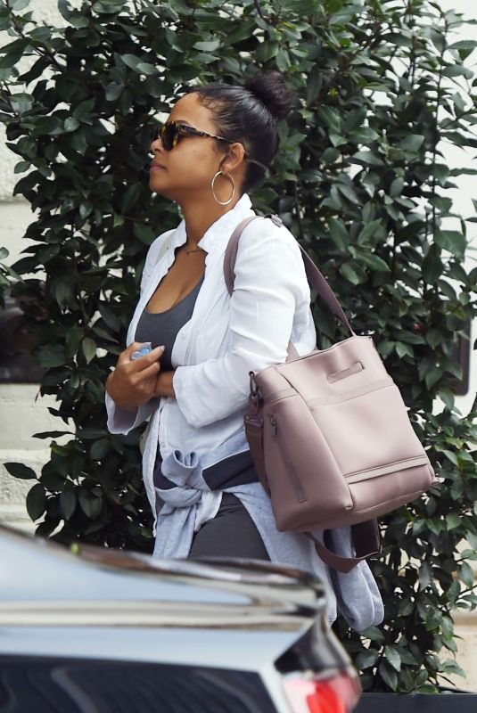 CHRISTINA MILIAN Out in Los Angeles 01/30/2020