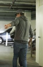 CINDY CRAWFORD and Rande Gerber Leaves Doctor