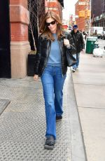 CINDY CRAWFORD Out and About in New York 02/04/2020