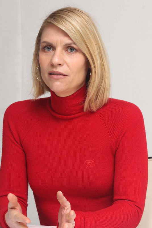 CLAIRE DANES at Homeland Press Conference in Los Angeles 02/14/2020