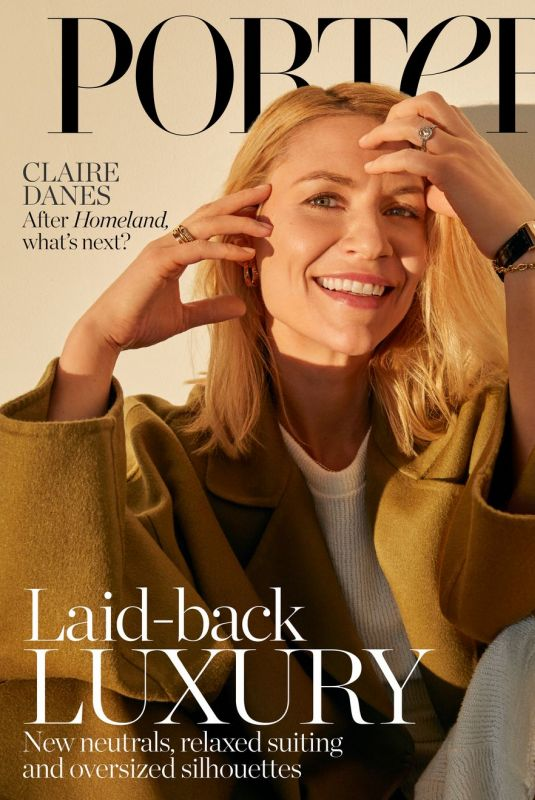 CLAIRE DANES for The Edit by Net-a-porter, February 2020