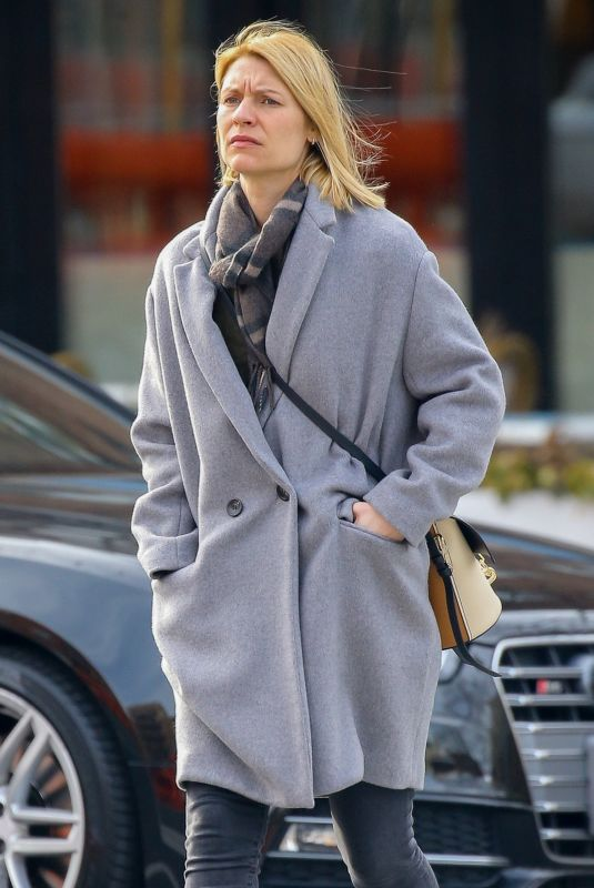 CLAIRE DANES Out and About in new york 02/24/2020