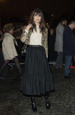 CLARA LUCIANI Arrives at Celine Fashion Show in Paris 02/28/2020