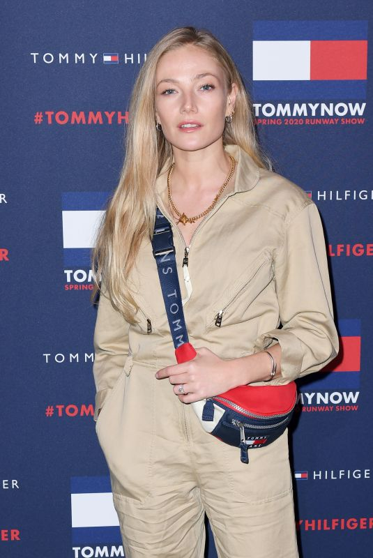 CLARA PAGET at Tommy Hilfiger Fashion Show in London 02/16/2020