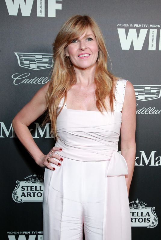 CONNIE BRITTON at 13th Annual Women in Film Female Oscar Nominees Party in Hollywood 02/07/2020