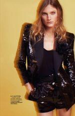 CONSTANCE JABLONSKI in Madame Figaro, February 2020