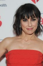 CONSTANCE ZIMMER at American Red Heart Association's Go Red for Women Red Dress Collection in New York 02/05/2020