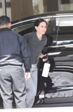 COURTENEY COX Arrives at Workout in West Hollywood 02/18/2020