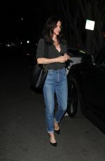 COURTENEY COX in Denim Out on Melrose Place 02/27/2020