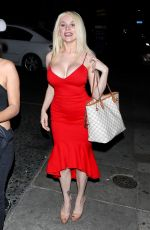 COURTNEY STODDEN Night Out in Los Angeles 02/26/2020