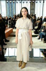 CRYSTAL REED at Longchamp Show at New York Fashion Week 02/08/2020