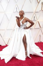 CYNTHIA ERIVO at 92nd Annual Academy Awards in Los Angeles 02/09/2020