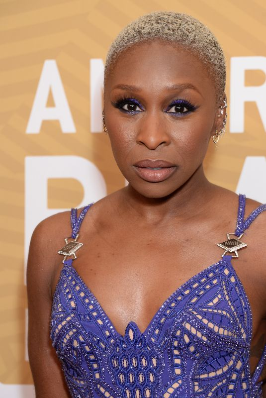 CYNTHIA ERIVO at American Black Film Festival Honors in Los Angeles 02/23/2020