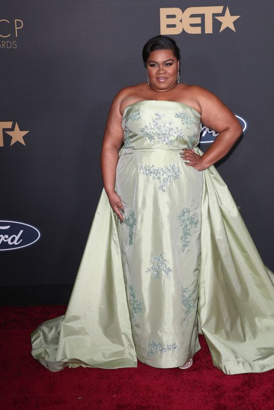 DA'VINE JOY RANDOLPH at 51st Naacp Image Awards in Pasadena 02/22/2020