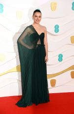 DAISY RIDLEY at EE British Academy Film Awards 2020 in London 02/01/2020