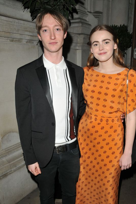 DAISY WATERSTONE at The Radio Times Covers Party in London 02/11/2020