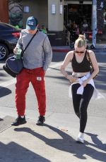 DAKOTA FANNING Out and About in Los Angeles 02/28/2020