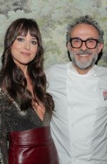 DAKOTA JOHNSON at Gucci Osteria da Massimo Bottura Opening in Beverly Hills 02/08/2020
