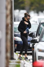 DAKOTA JOHNSON Leaves Yoga Class in Los Angeles 02/09/2020