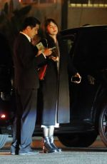 DAKOTA JOHNSON Night Out in Los Angeles 02/05/2020