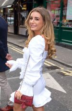 DANI DYER Out and About in London 02/21/2020