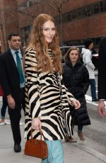 DARBY STANCHFIELD Arrives at Build Series in New York 02/20/2020