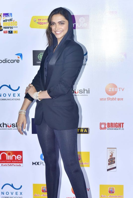 DEEPIKA PADUKONE at Radio Mirchi Music Awards 2020 in Mumbai 02/19/2020