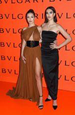 DELILAH and AMELIA HAMLIN at Bvlgari Celebrates B.Zero1 Rock Collection in Brooklyn 02/06/2020