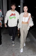 DELILAH HAMLIN and Eyal Booker at Catch LA in West Hollywood 02/27/2020